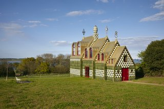 This Eye-Popping Chapel For Rent in England Tells the Story of a Made-Up Saint