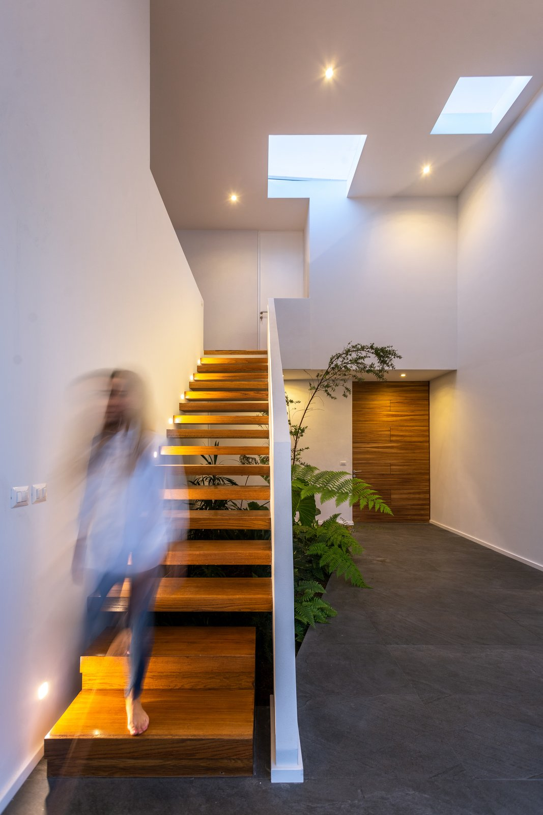 Staircase, Wood, Wood, Stone, and Concrete  Staircase Wood Concrete Photos from San Antonio House