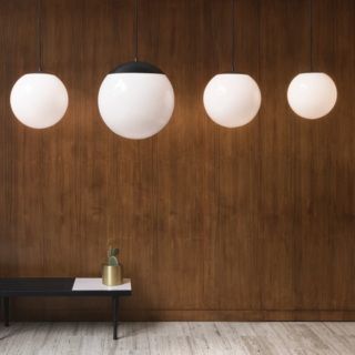 Schoolhouse's Affordable Globe Pendant Is at Once Retro and Modern
