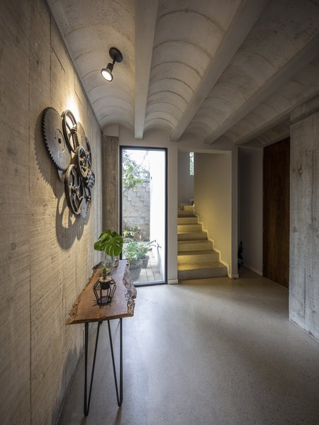 Best 60+ Modern Hallway Concrete Floors Design Photos And Ideas - Dwell