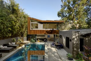 A Sustainable Renovation of a Los Angeles Midcentury Channels Its Designers' Utopian Ideals