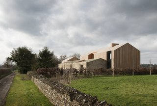 This Barn-Like Home in the UK  Is Highbrow Texture Porn
