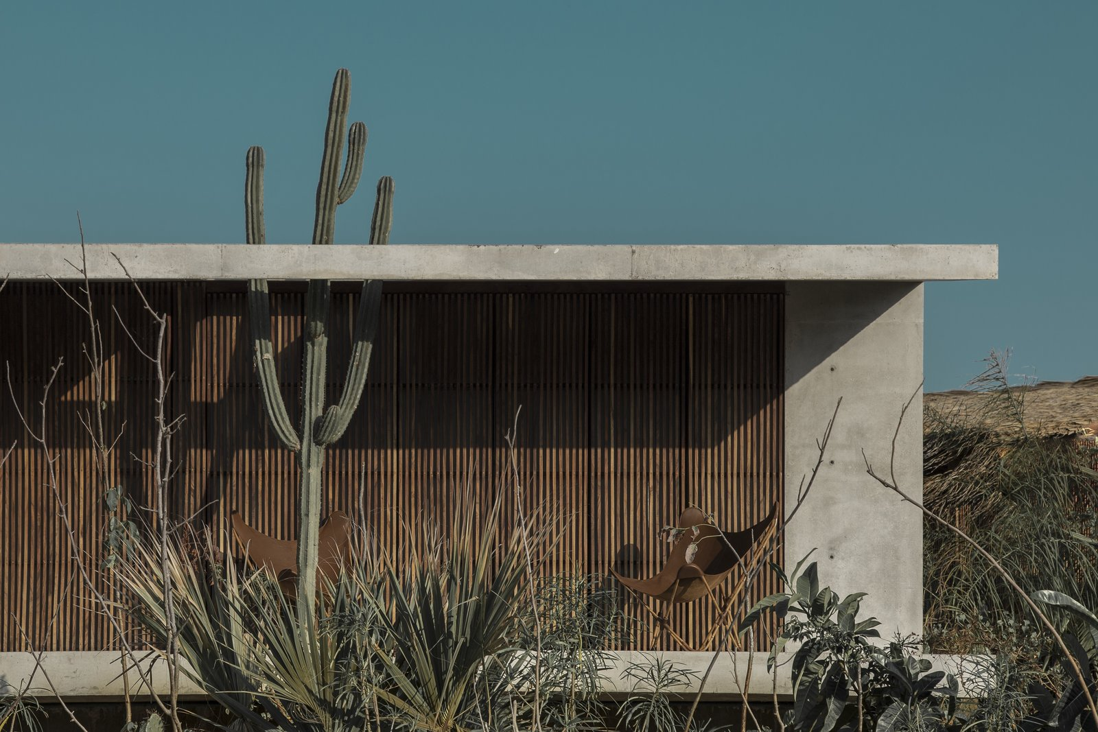 Exterior, Beach House Building Type, and Concrete Siding Material  Best Photos from Casa Altanera