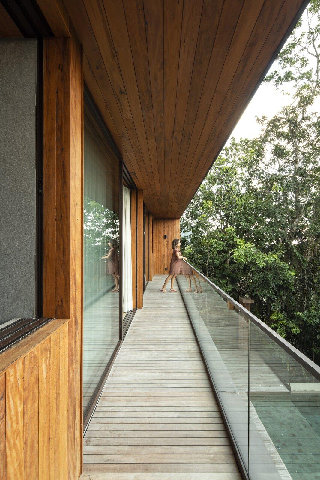 Balcony of Casa Iporanga by Daniel Fromer.