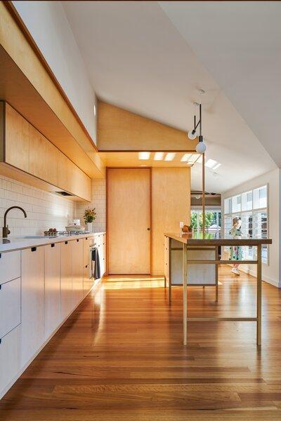 Best 60 Modern Kitchen White Cabinets Dark Hardwood Floors Design Dwell