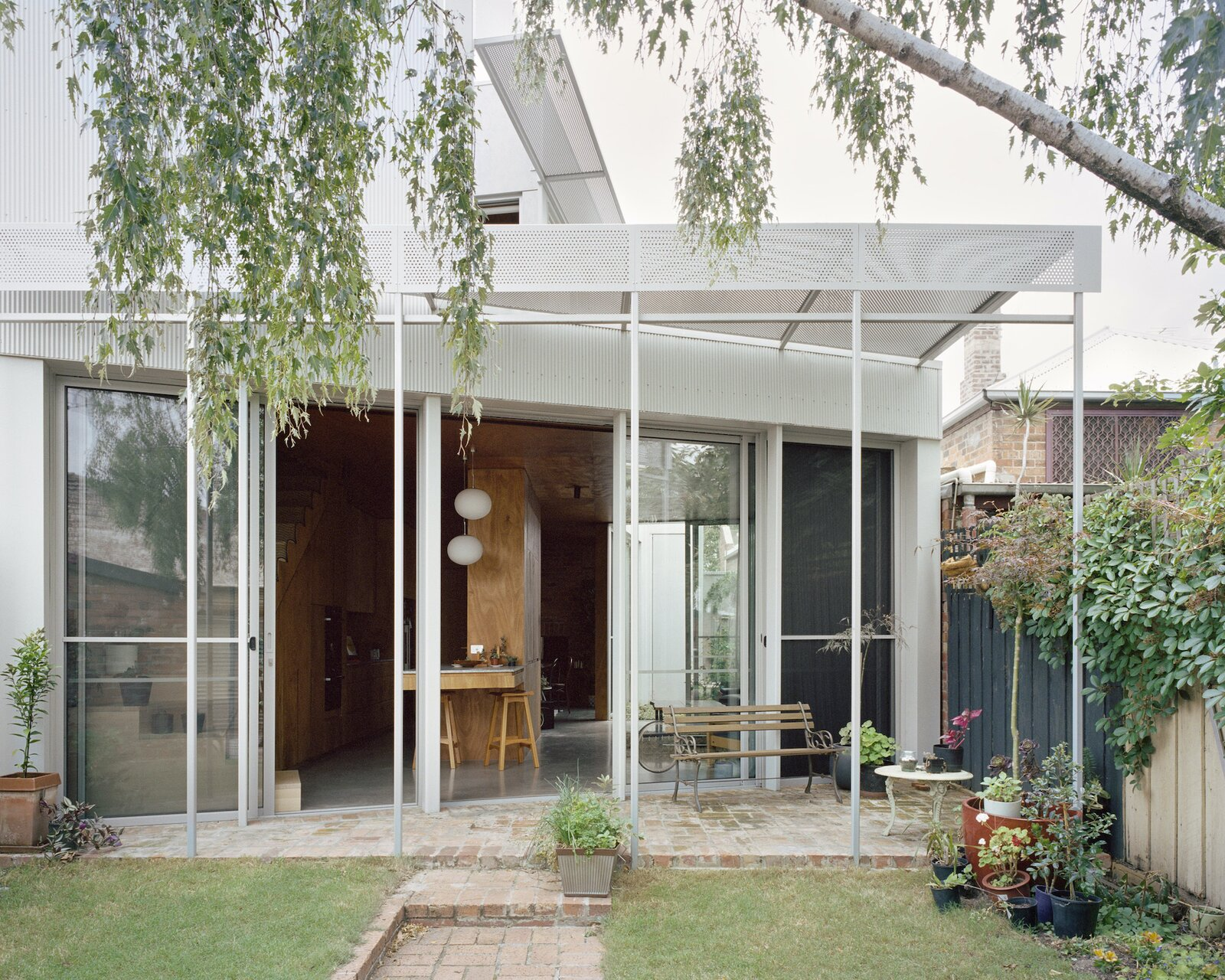 Exterior of Terrace House 1 by Dreamer
