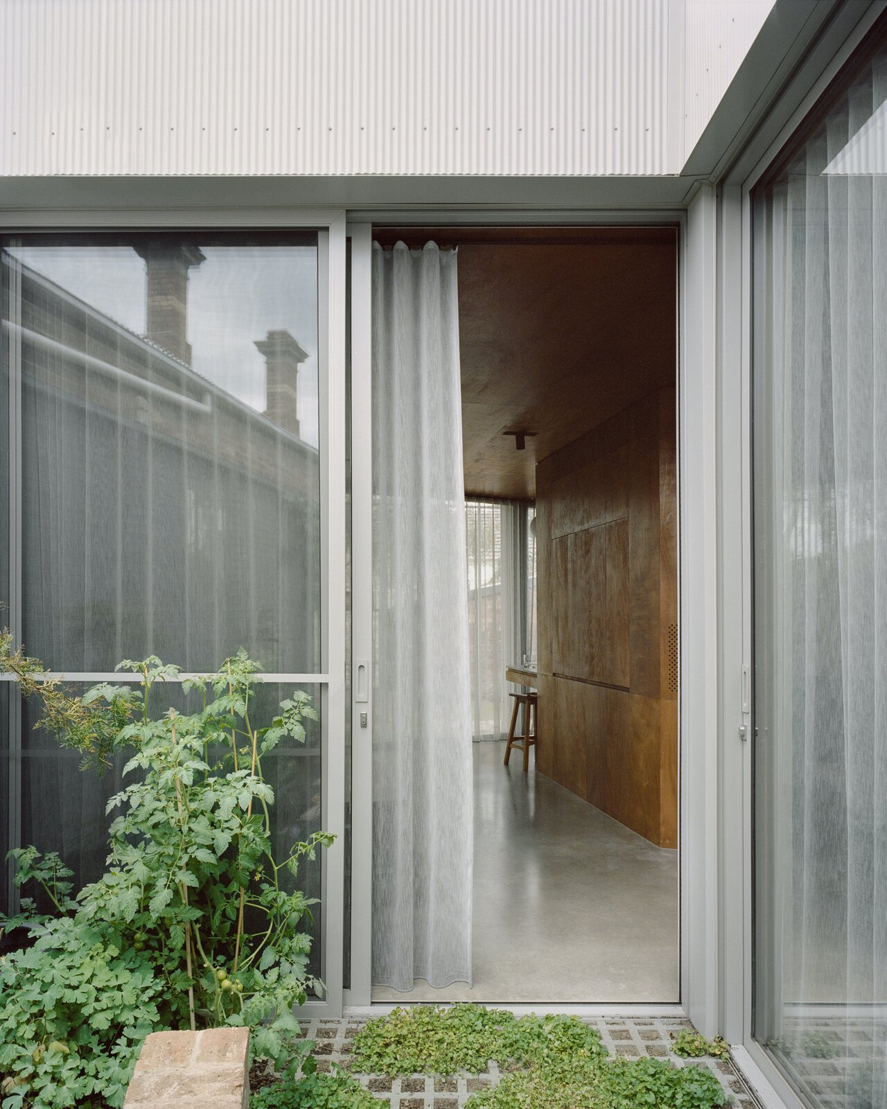 Entrance hall of Terrace House 1 by Dreamer