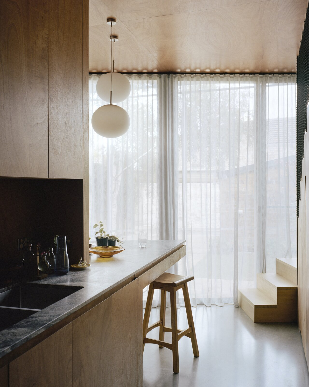 Kitchen of Terrace House 1 by Dreamer