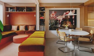 A London Townhouse Captures the Glamour of the Hollywood Hills in the '70s