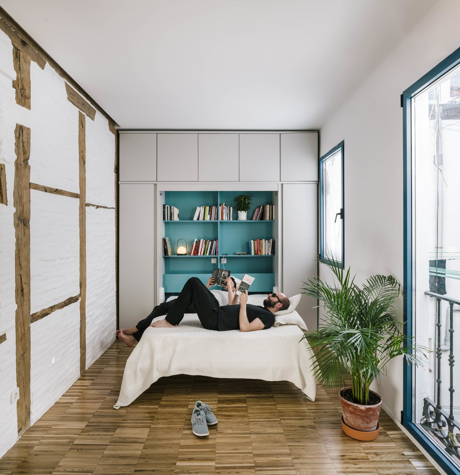 BYG House by Gon Architects bedroom