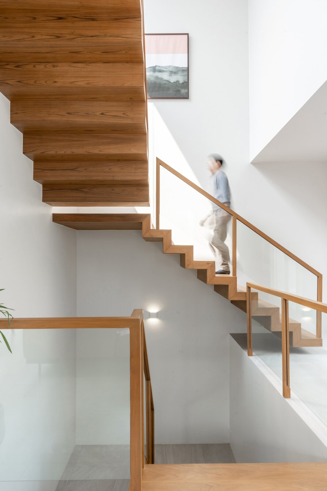 Mit Chit House by Looklen Architects stairway