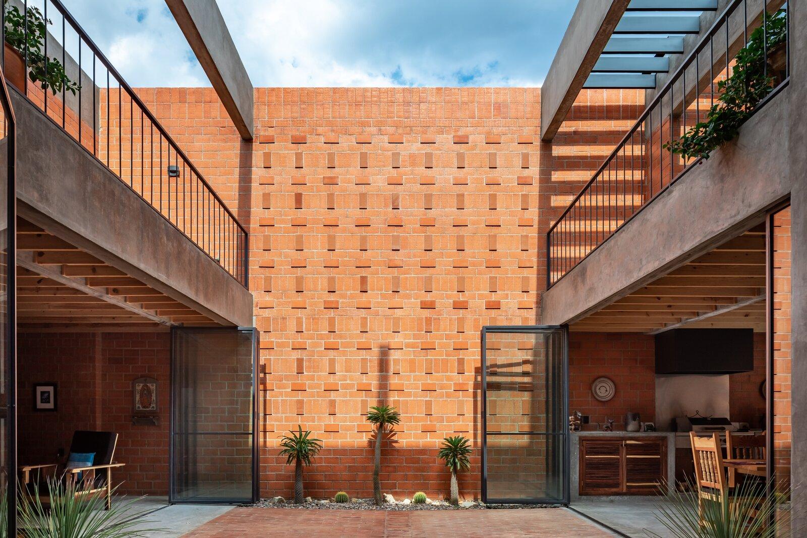 Nuestro Sueño central courtyard