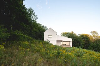 This Saltbox House Was Inspired by a Family's Favorite Barbecue Grill