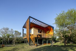 This Vacation Home in Argentina Is One Part House, One Part Skate Ramp
