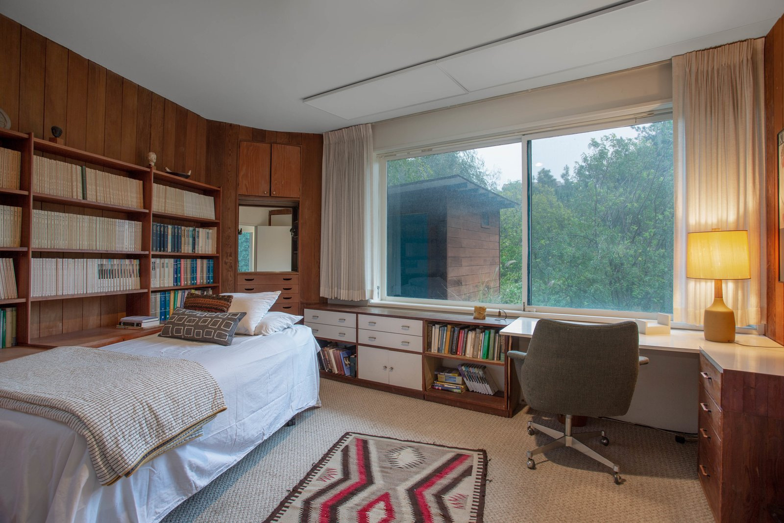 Bedroom  The Francis Residence, 1952