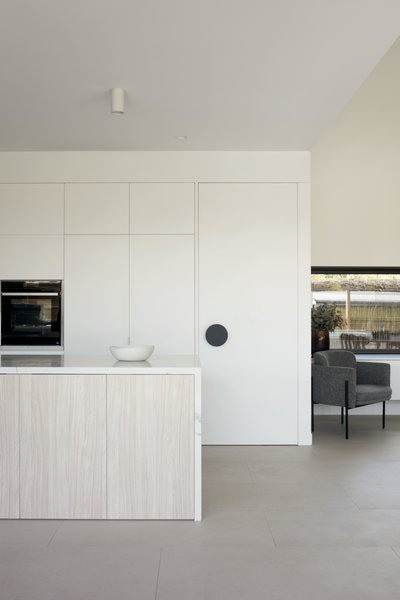 Best 60 Modern Kitchen White Cabinets Ceramic Tile Floors Design Dwell