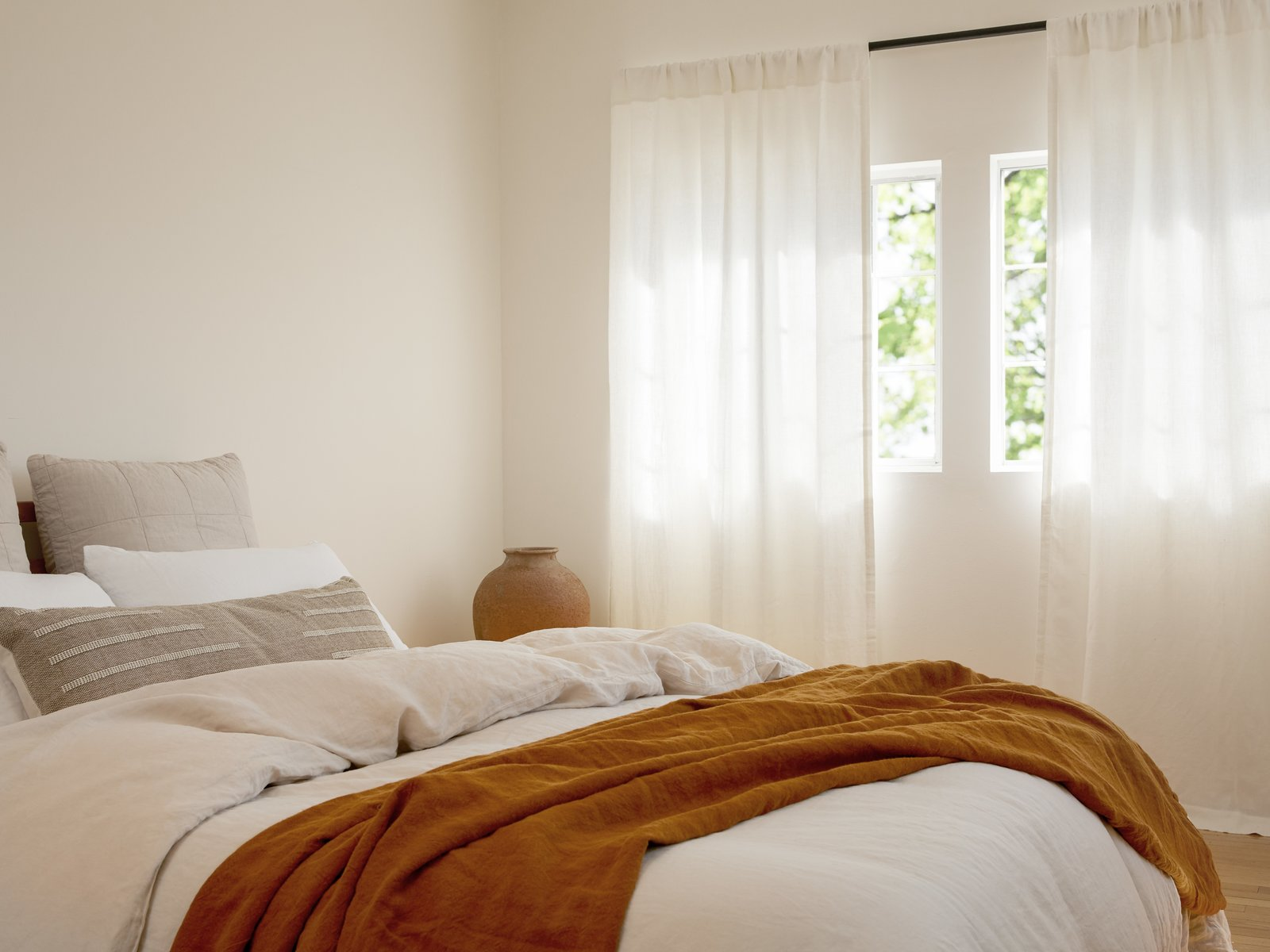 Treat Your Windows to a Big Upgrade With Parachute's New Linen Curtains