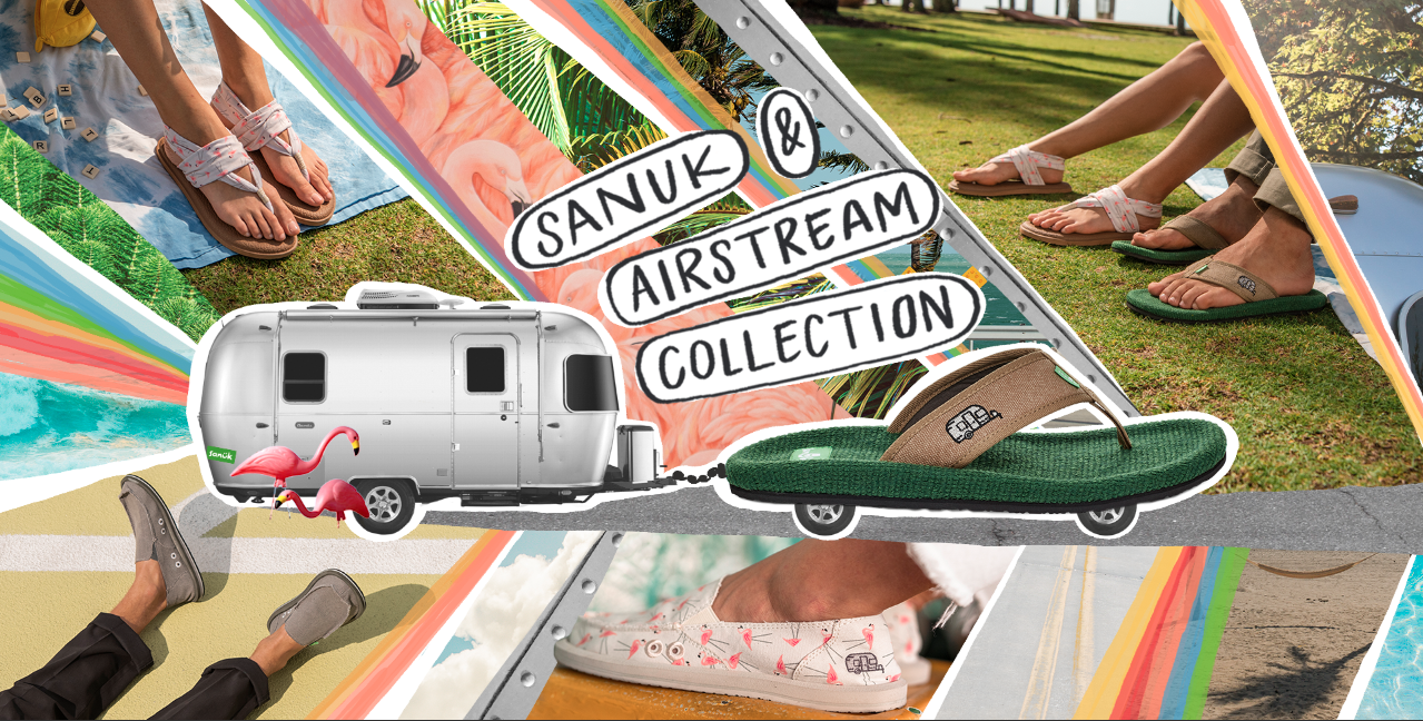 Photo 1 of 9 in Airstream and Sanuk Launch a New Line of Adventure-Ready Shoes