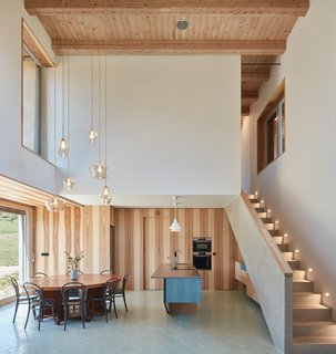Romantic Ruins Enclose a Modern House in the Czech Republic