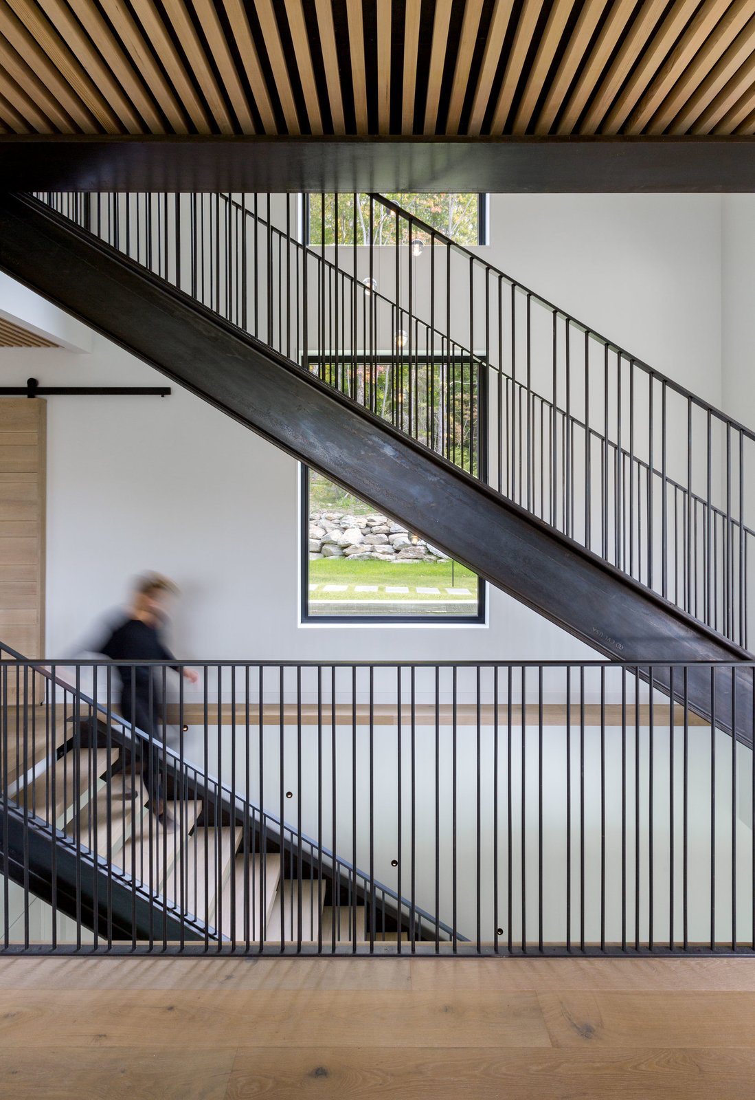 Staircase, Wood Tread, and Metal Railing  Photos from Elemental House