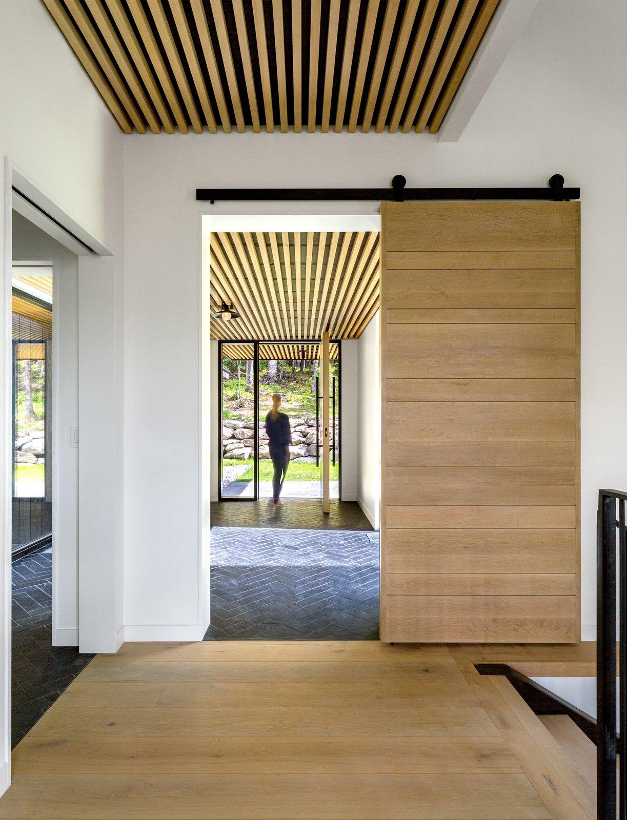 Doors, Wood, Sliding Door Type, and Interior  Elemental House by Elizabeth Herrmann Architecture + Design