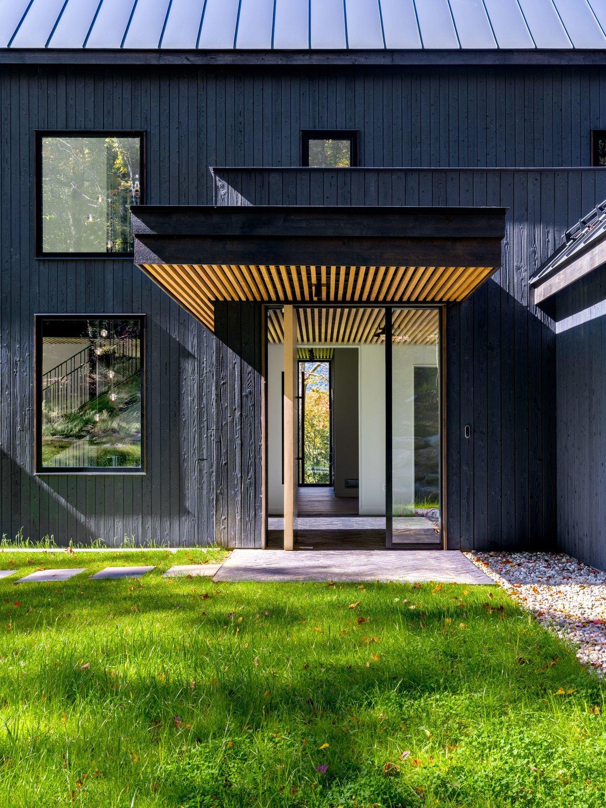 Doors, Swing Door Type, Wood, and Exterior  Elemental House by Elizabeth Herrmann Architecture + Design