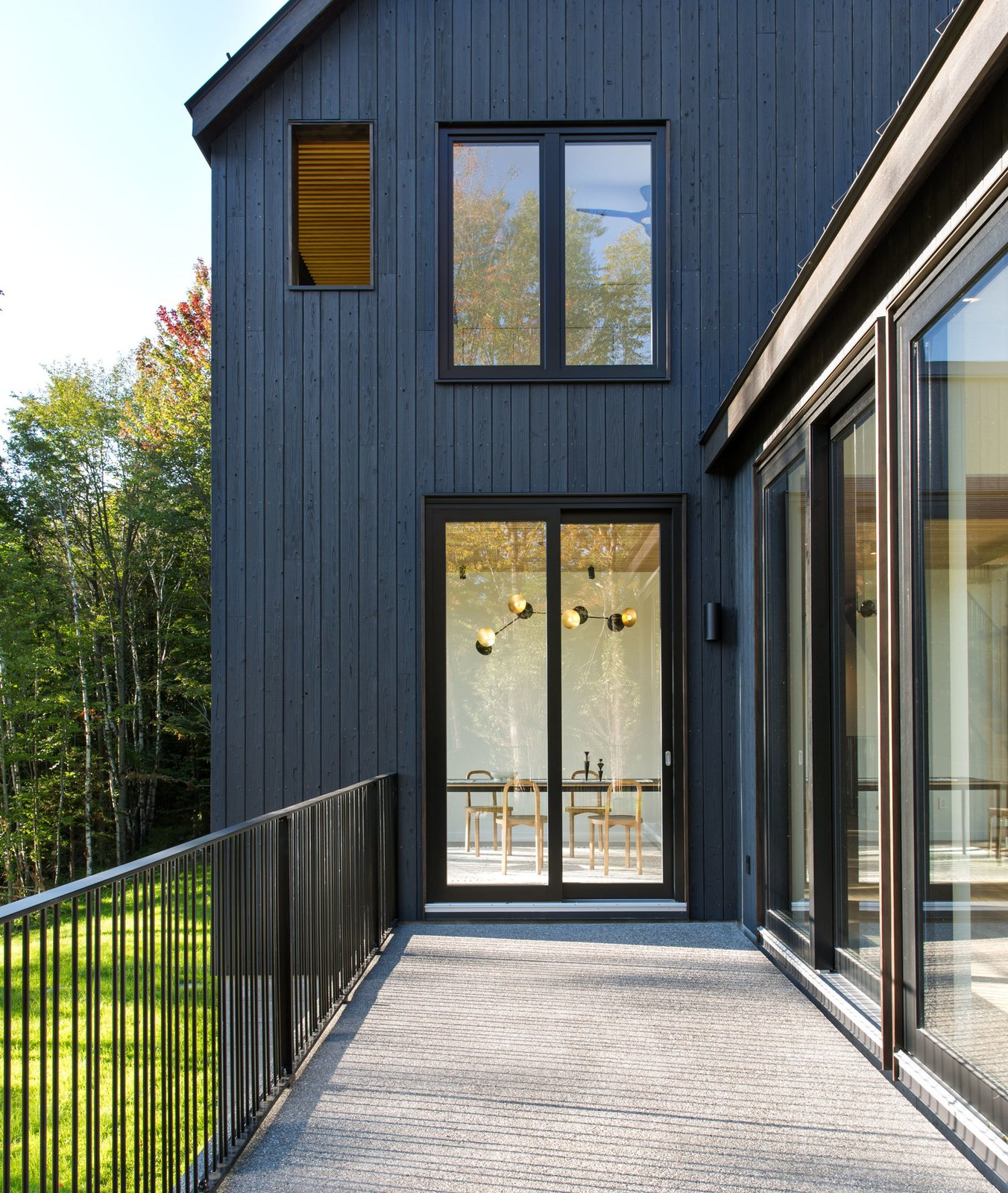 Exterior, House Building Type, Metal Roof Material, Gable RoofLine, and Wood Siding Material  Elemental House by Elizabeth Herrmann Architecture + Design