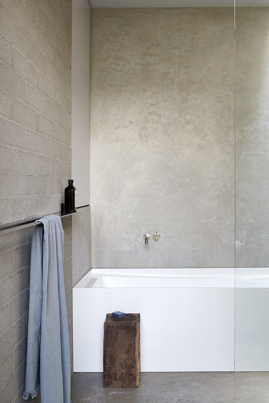 Bath, Alcove, Concrete, and Concrete  Bath Concrete Concrete Photos from Ruxton Rise Residence