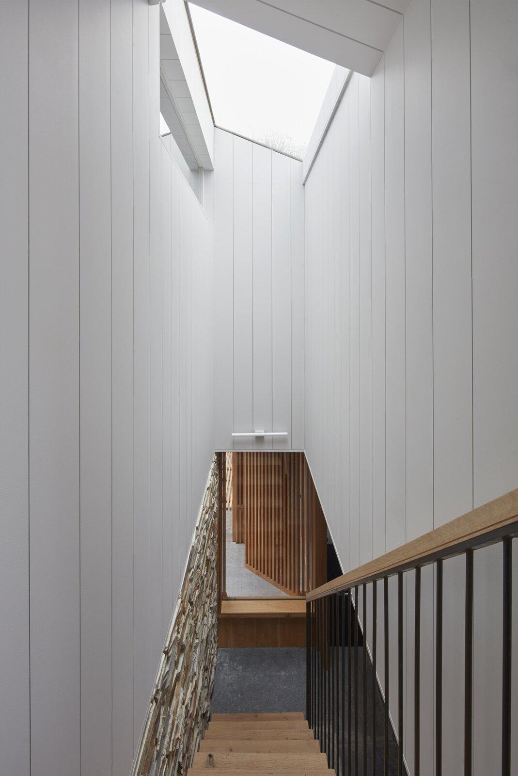 Cornwall cottage stairway