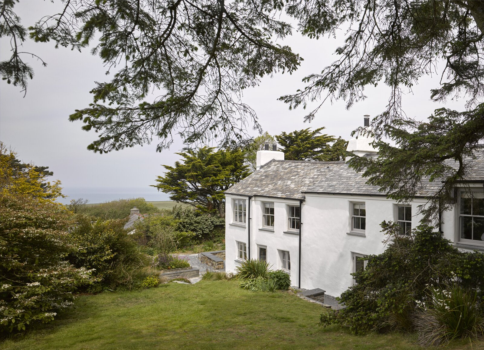 A Cleaned-Up Cornwall Cottage Maintains Its Funky Maritime Charm