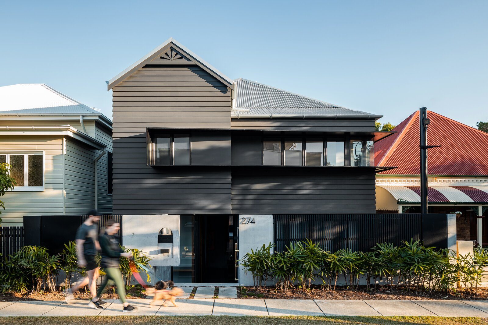 Danny's House Shaun Lockyer Architects front facade