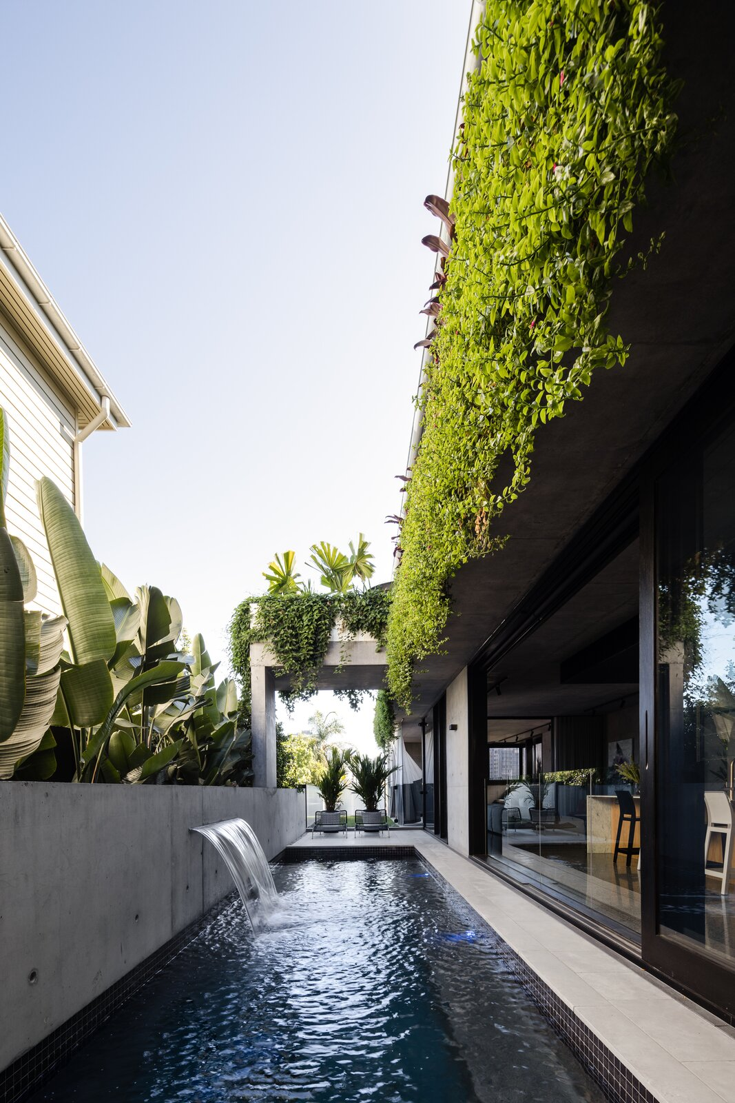 Danny's House Shaun Lockyer Architects swimming pool
