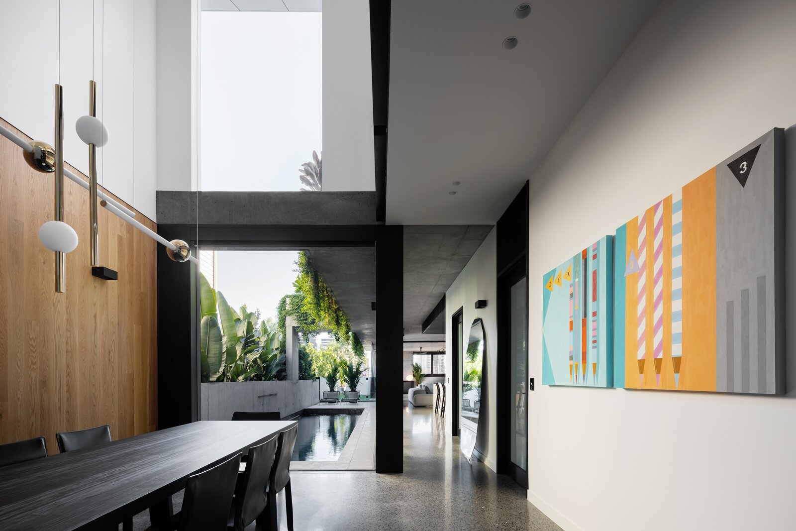 Danny's House Shaun Lockyer Architects dining area