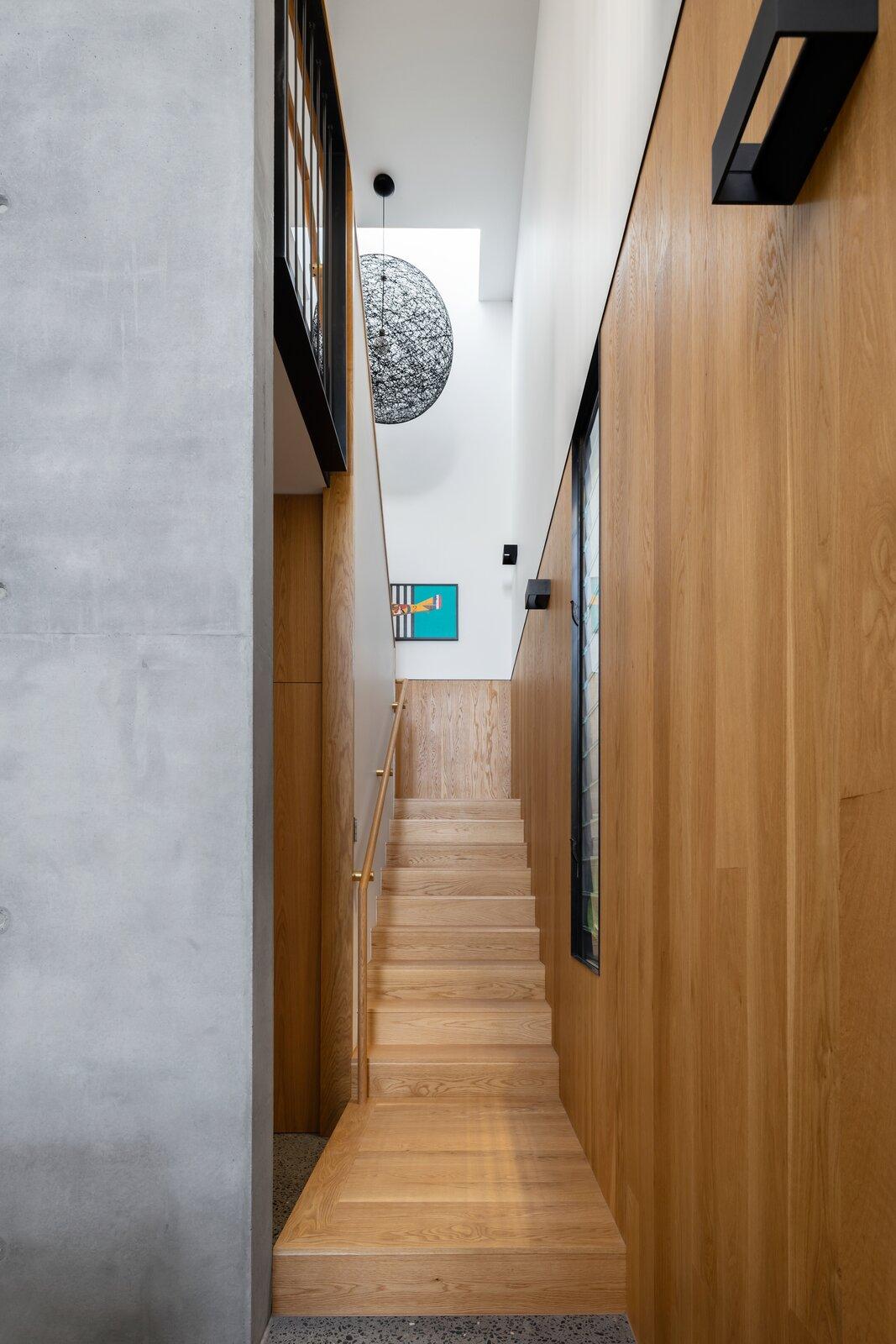 Danny's House Shaun Lockyer Architects hallway