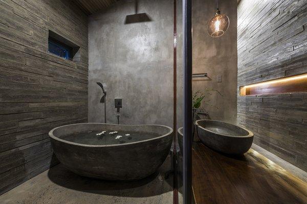 Best 60 Modern Bathroom Ceiling Lighting Design Photos And Ideas Dwell