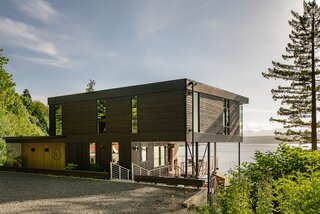A Waterfront Home in Washington Grows Two Hovering Wings