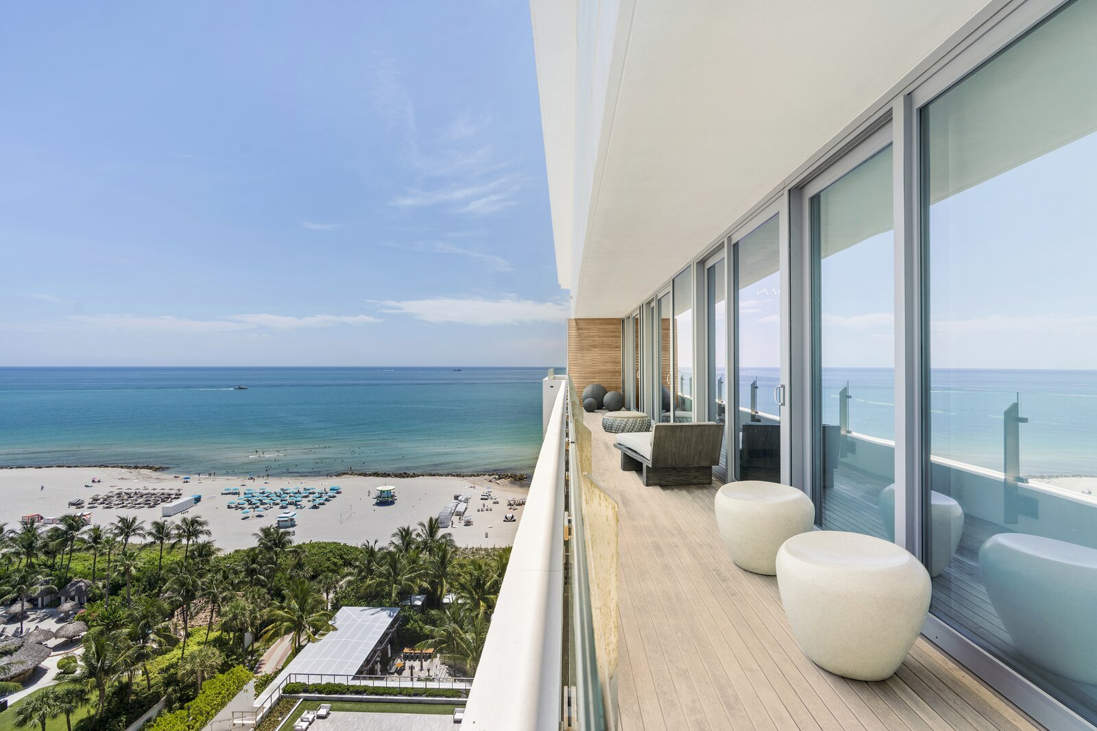 Miami Beach Home in the Sky is a Tropical Paradise