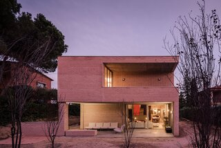 A Spanish Architect's Brutalist-Inspired Home Makes Room for Three Generations
