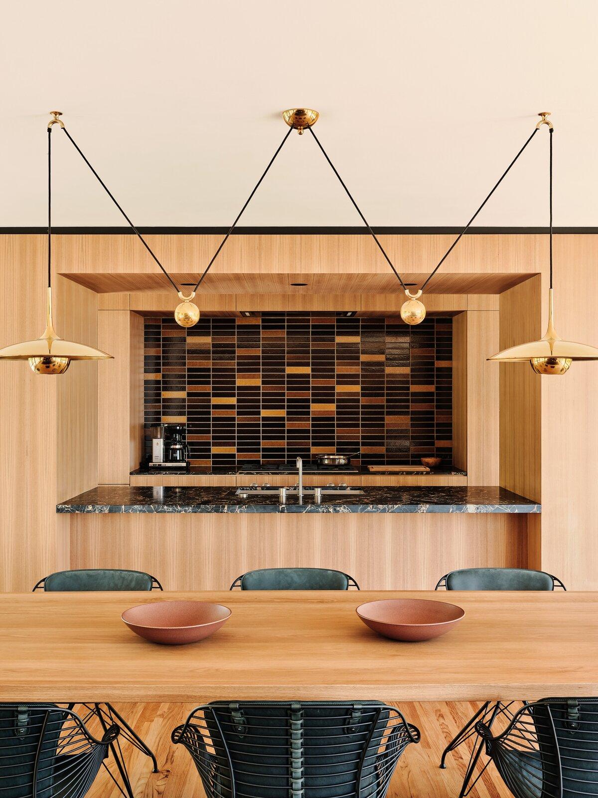 Moore House Restoration by Woods + Dangaran kitchen