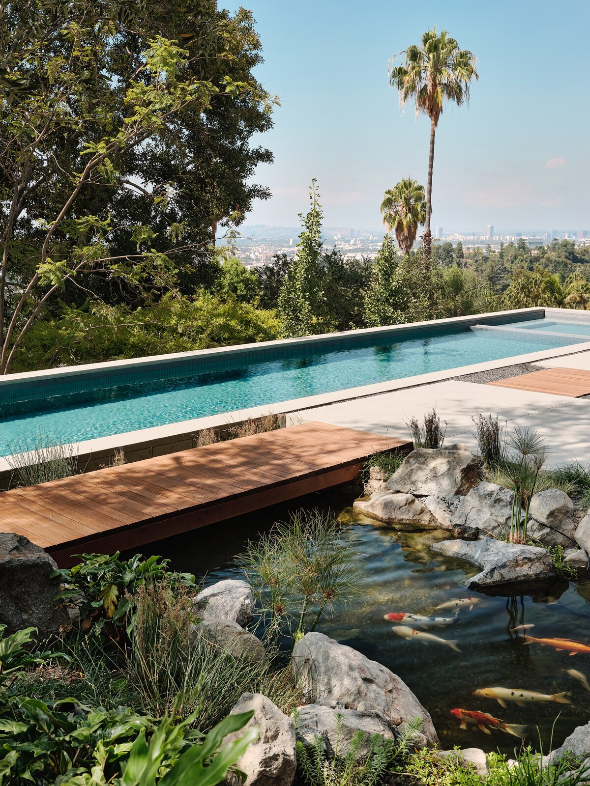 Moore House Restoration by Woods + Dangaran pool