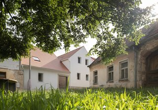 An Architect Couple's Family Home Connects Two Historic Buildings in the Czech Republic
